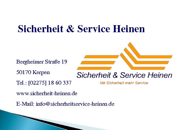 Sicherheit & Service Heinen