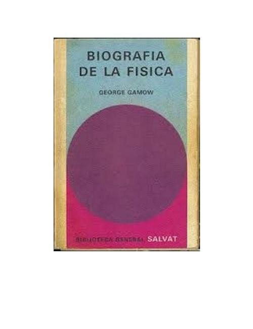 Biografia de la fisica - George Gamow