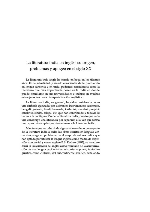 LITERATURA HINDÙ