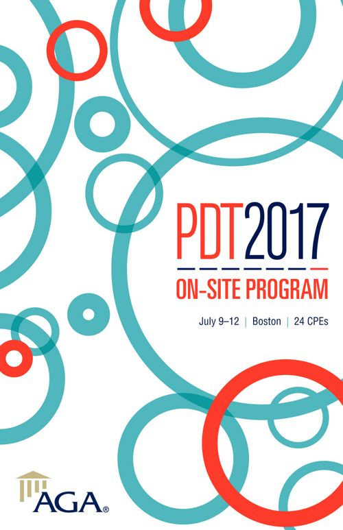AGA PDT 2017 Onsite Program