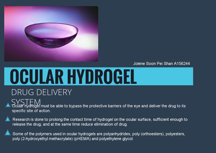 Hydrogel assignment