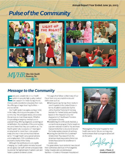MVH 2013 Annual Report
