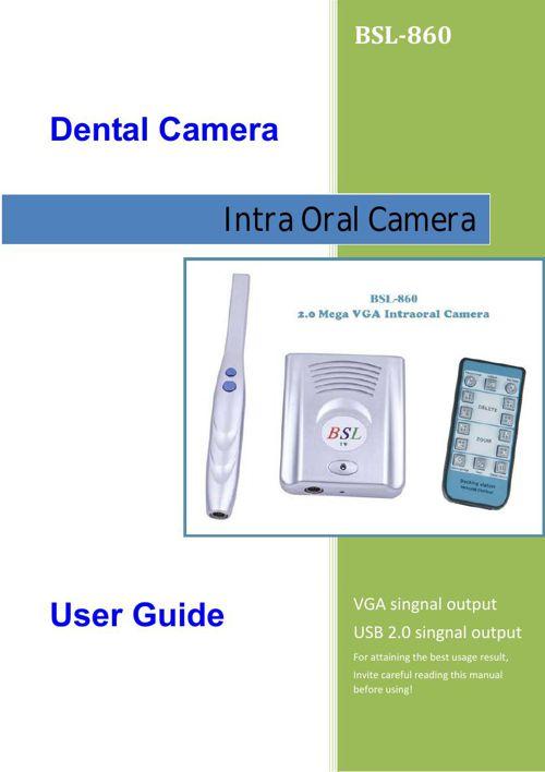 BSL-860-English manual