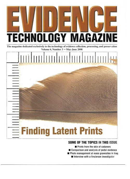 Evidence Technology Magazine MGIT Article May_2008