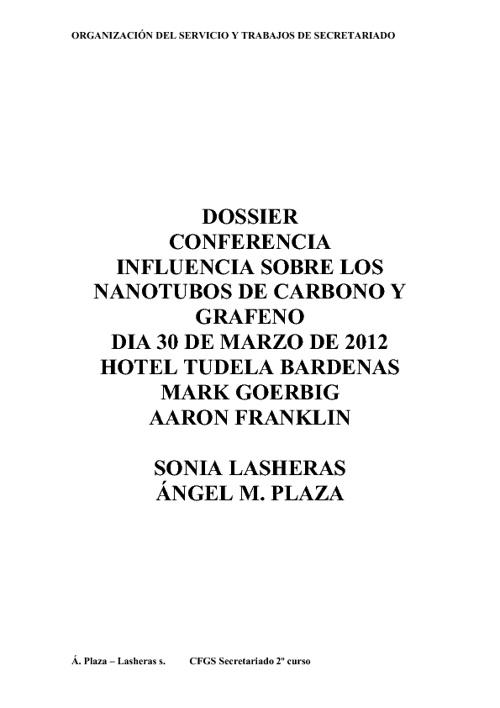 """Copy of Conferencia en Tudela """"nanotubos de cárbono y gráfeno"""""""
