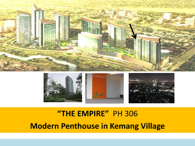 Kemang Village Penthouse: The Empire