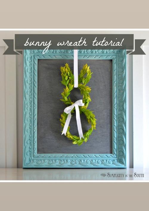 Bunny Wreath tutorial