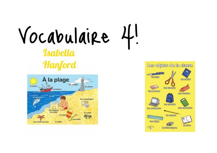 Vocabulaire4