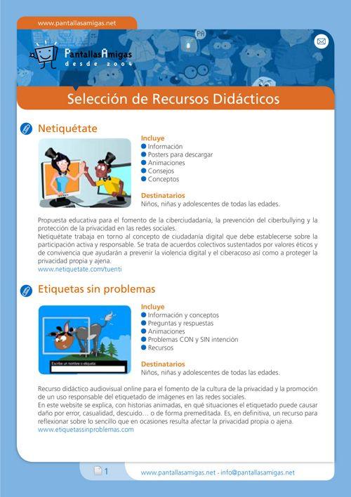 PantallasAmigas_Seleccion_Recursos_2016_v01