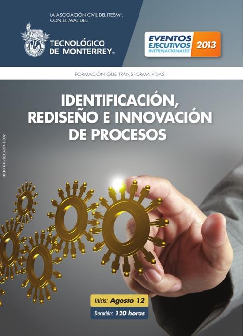 Identificación, Rediseño e Innovación de Procesos