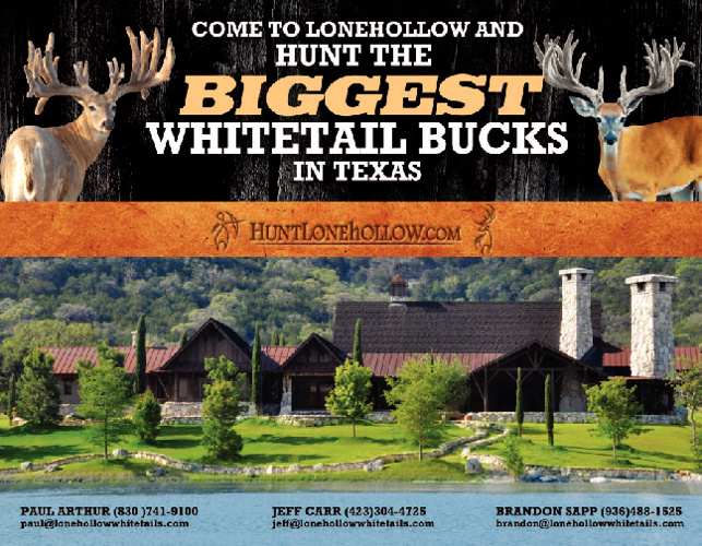 Lonehollow Hunt Brochure