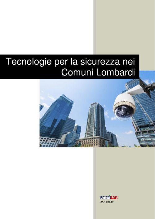 Report Tecnologie per la sicurezza nei Comuni Lombardi