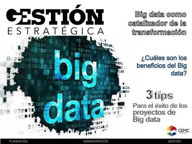 GE22- Big data como catalizador de la transformación
