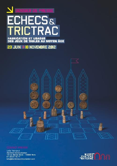 Echecs et TricTrac