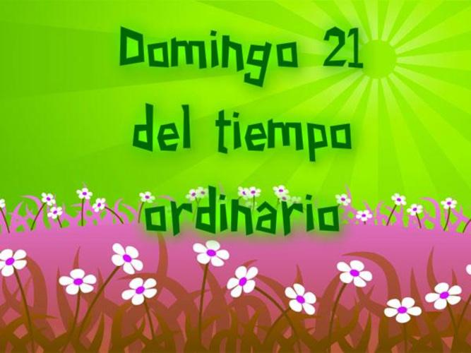 DOMINGO 21