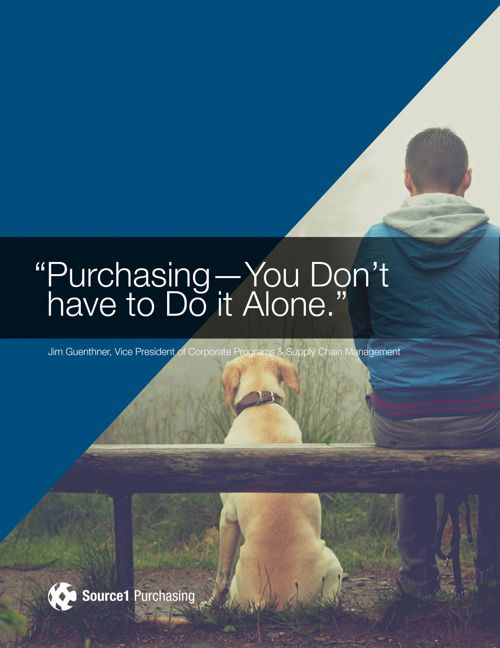Purchasing -  You don't have to do it alone