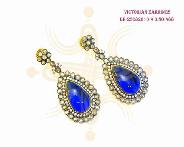 Ethnic - New Launch - Kundan/ Meena Earings - 27 Aug 2013