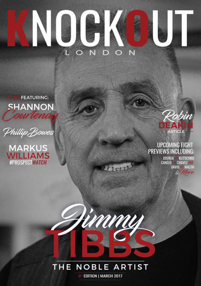 KnockOut London Magazine 6 - Jimmy Tibbs - The Noble Artist