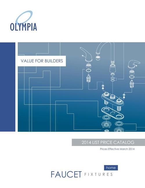 OLYMPIA 2014 List Price Catalog