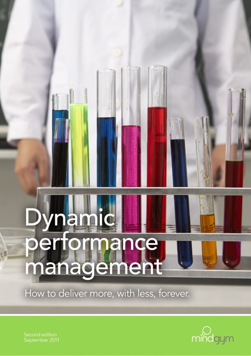 Dynamic performance management: deliver more with less [UK]