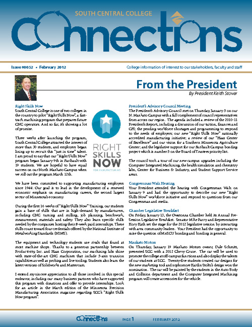 February 2012 Connections Newsletter