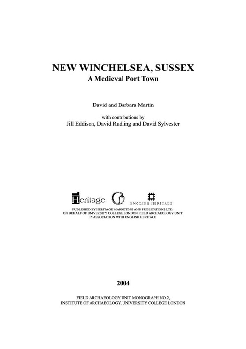 Winchelsea town_Pt1_Start to p 94