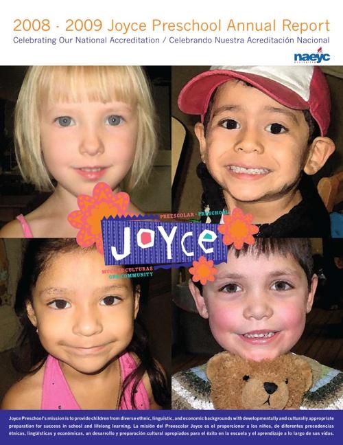 Joyce Preschool - 2008-09 Annual Report