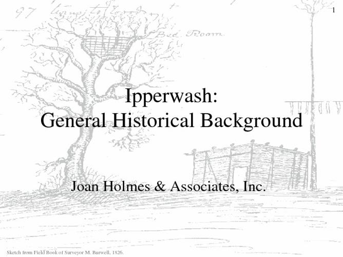 Ipperwash: Hitsorical Background