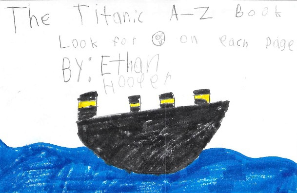 The Titanic A-Z Book by Ethan H.