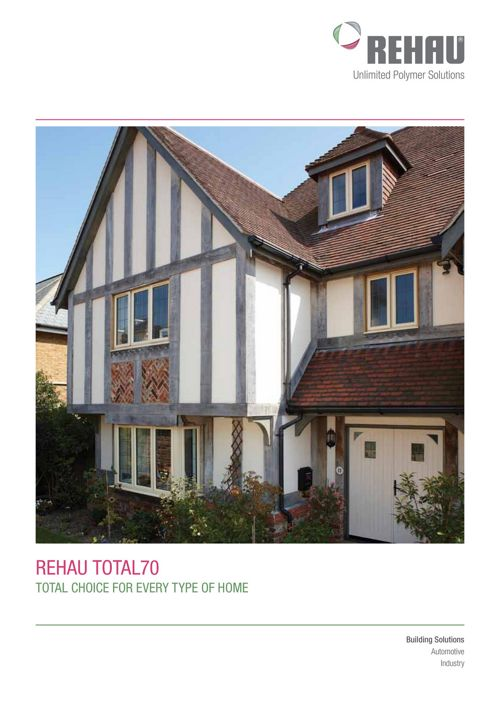 Rehau Total 70 PVCu windows & Doors (1)