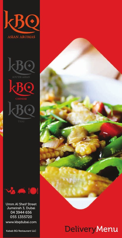 KBQ Chinese Delivery Menu