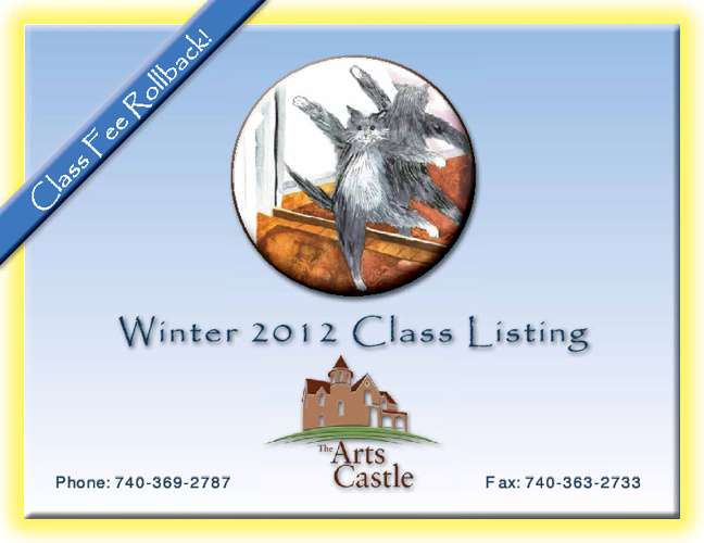 The Arts Castle Winter Catalog 2012