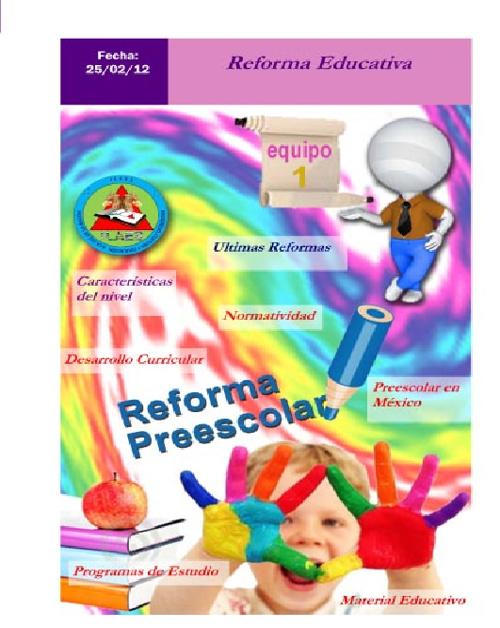 Educación Preescolar en México