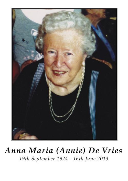 Anna De Vries
