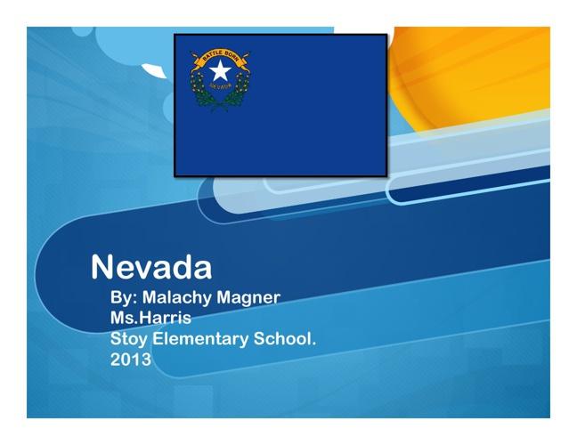 Nevada by Malachy