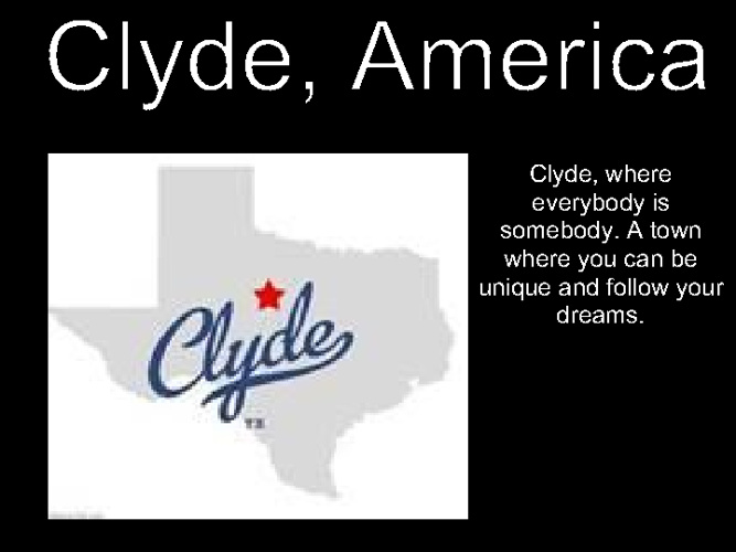 Clyde Presentation