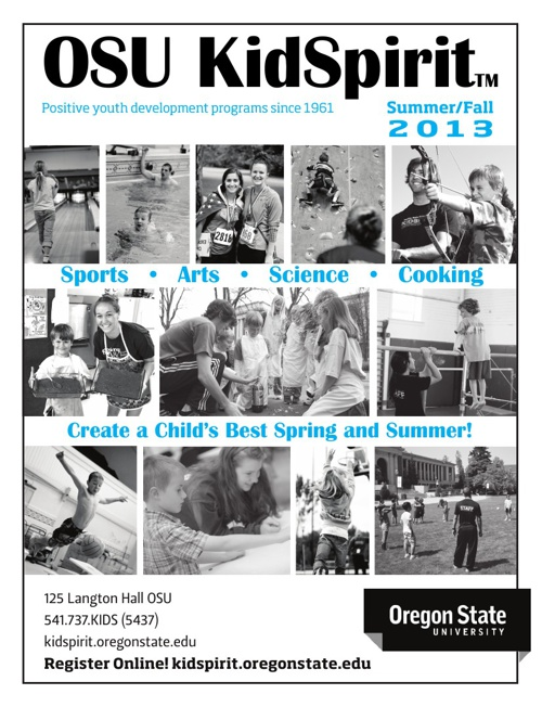KidSpirit Summer/Fall 2013 Brochure (Part 1)