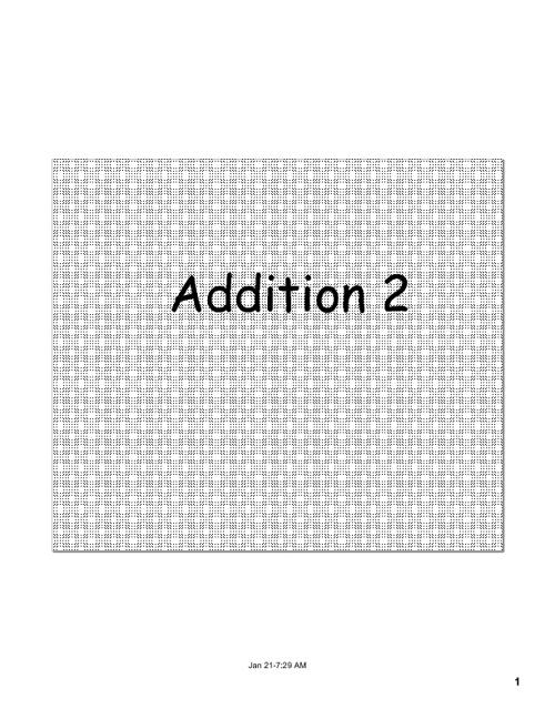 Math Addition 123