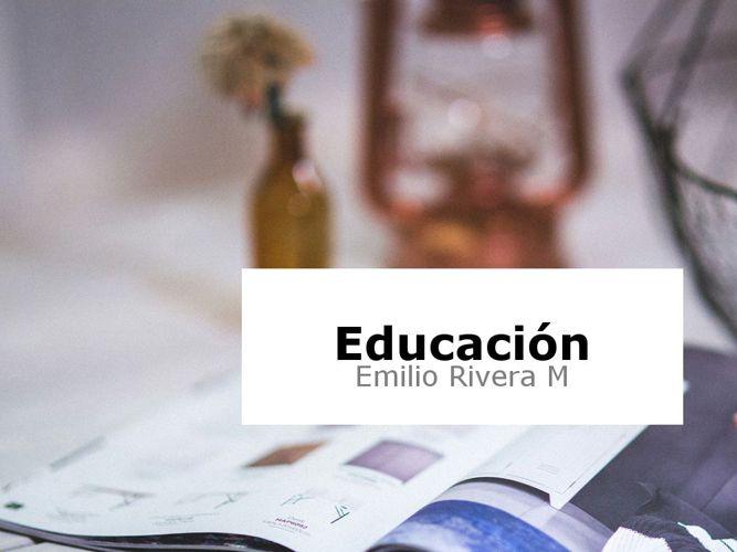 Educacion Fisica Emilio Rivera M