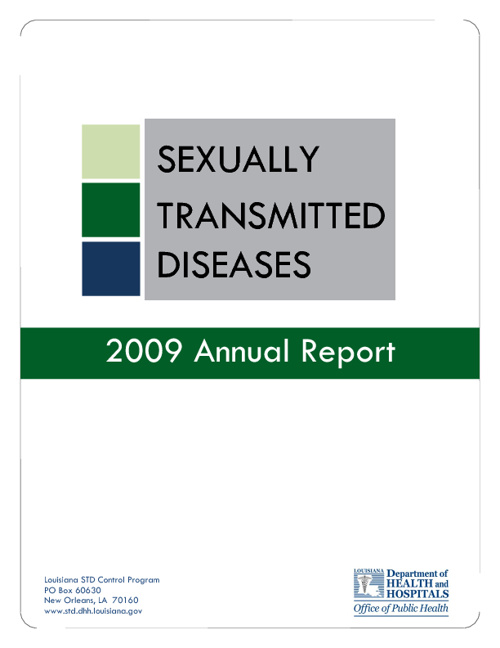 Sexually Transmitted Disease Report for Louisiana 2009
