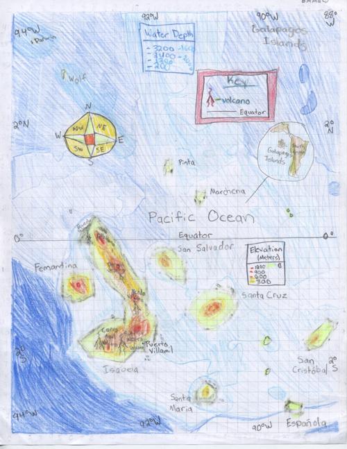 Emma Dyhrkopp's Galapagos Island E-Book