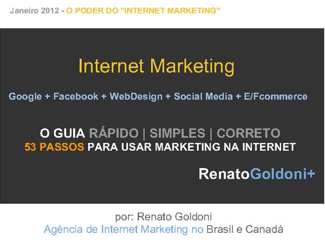 Internet Marketing - Brazil