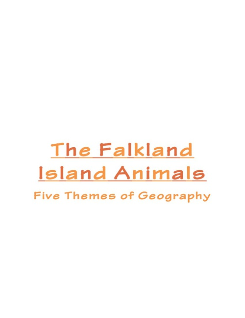 The Falkland Island