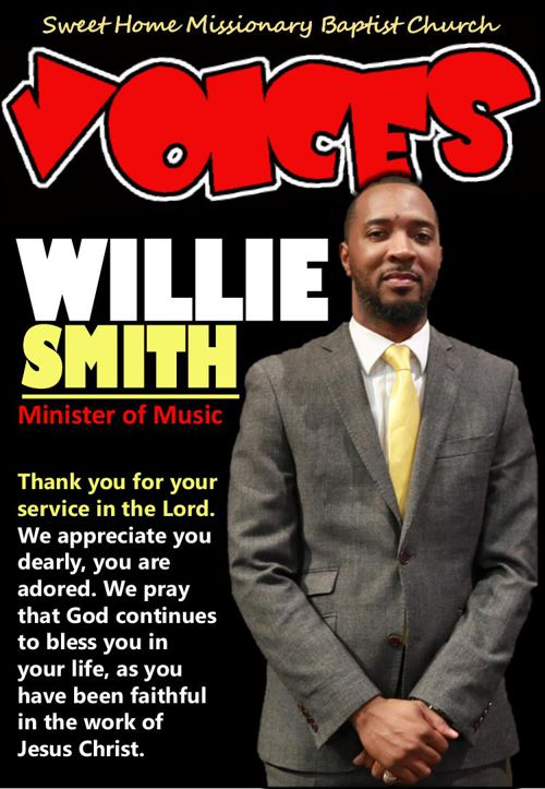 Magazine for Willie Smith -- Music Ministry