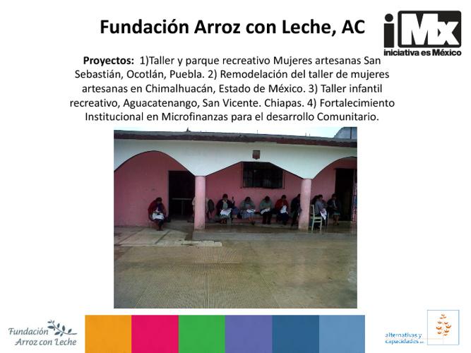 Fundación Arroz con Leche, AC