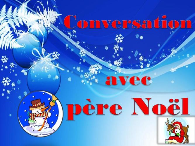 Conversation avec Pere Noel