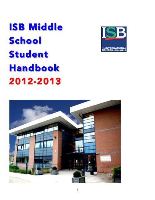 MS Student Handbook 2012-2013