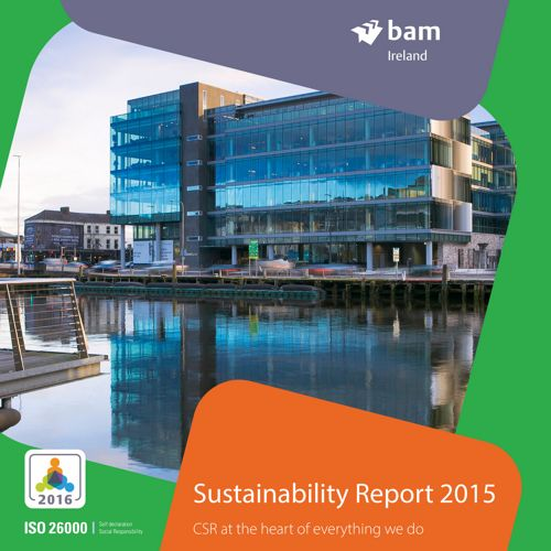BAM Ireland Sustainability Report 2015