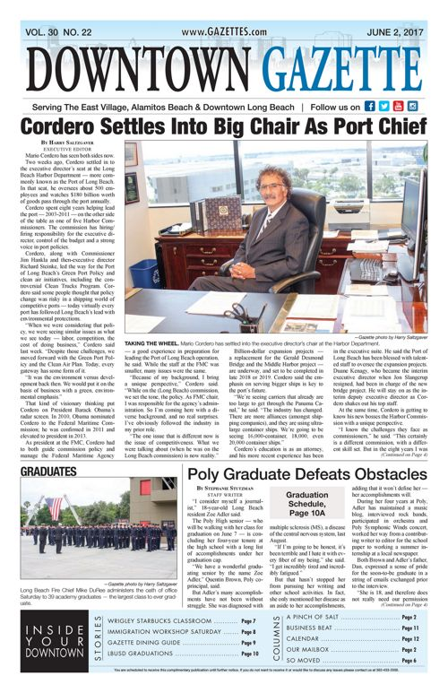 Downtown Gazette     June 2, 2017