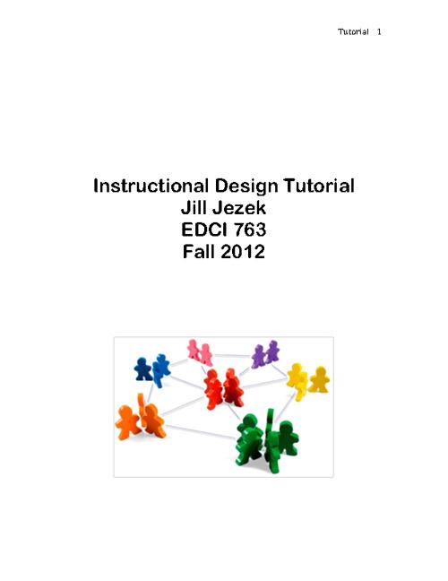 Instructional Design Tutorial